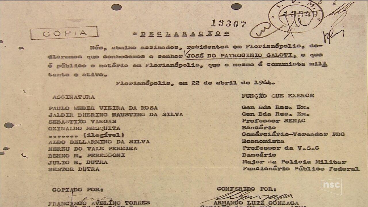 Comissão da Verdade revela que UFSC espionava professores e estudantes na ditadura