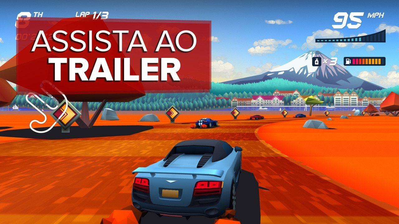 Veja o trailer de 'Horizon Chase Turbo', game brasileiro de corrida