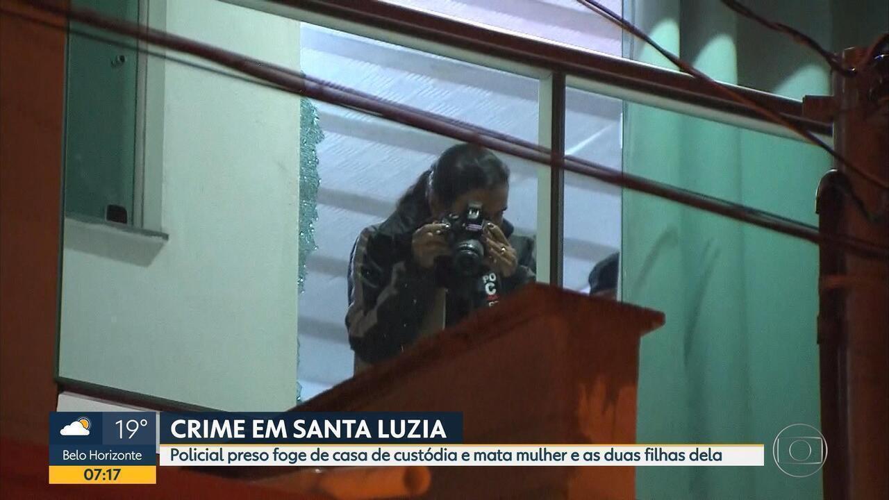 Policial civil mata mulher, duas filhas e se mata em Santa Luzia