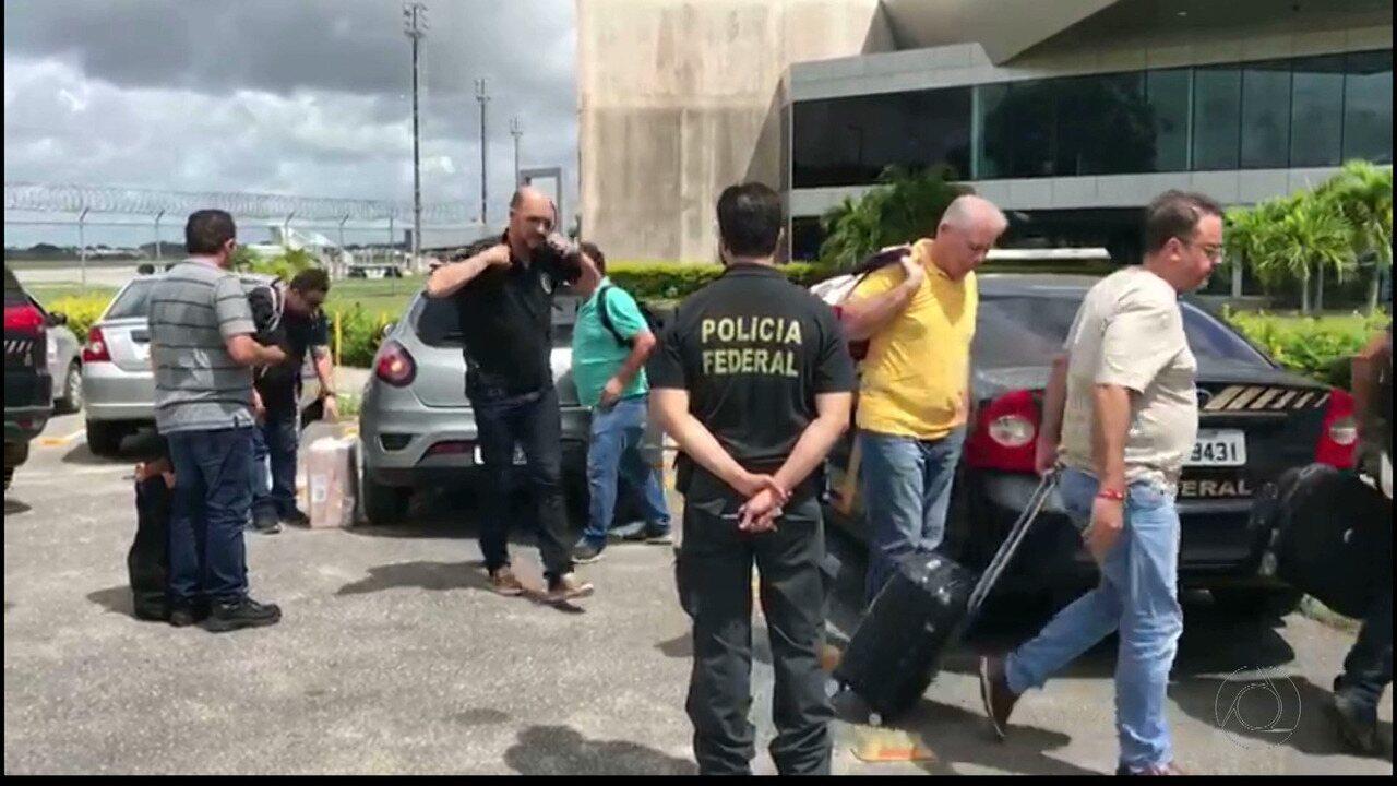 Operação Dominó: dois suspeitos de participar do esquema são presos em João Pessoa