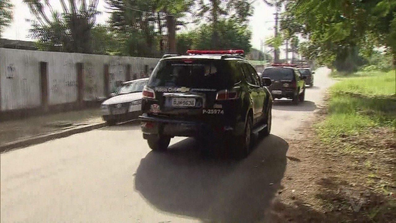 Duas pessoas são presas durante operação em Peruíbe