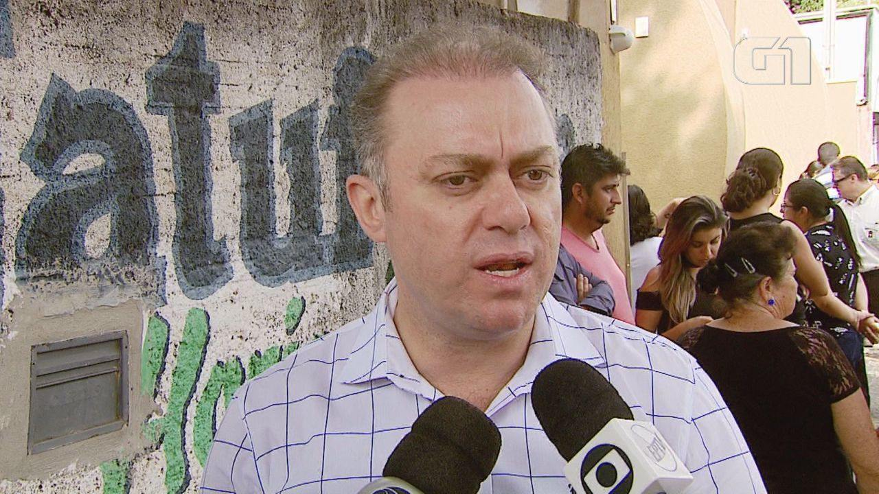 O advogado Rogério Luiz Carlino fala sobre o crime em Porto Ferreira, SP