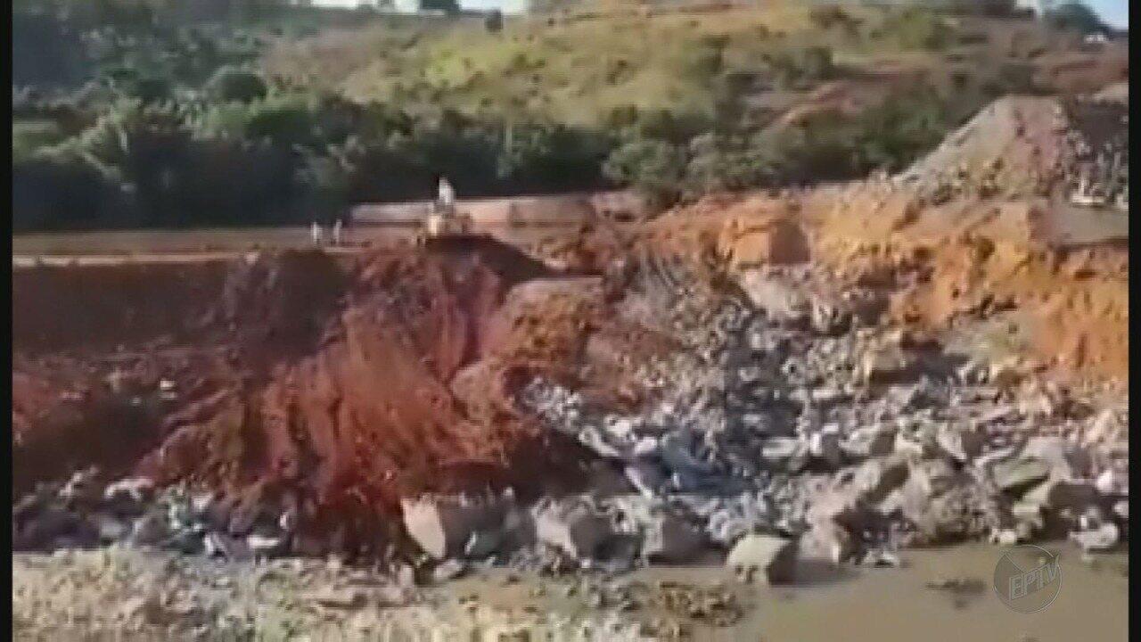 Movimento questiona desvio feito para construção de hidrelétrica no Rio Verde, em Varginha