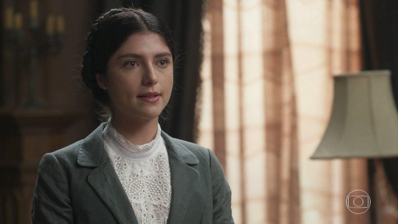 em que Fani sugere a Cecília que a alma de Josephine desaprova sua permanência na mansão! #falsiane