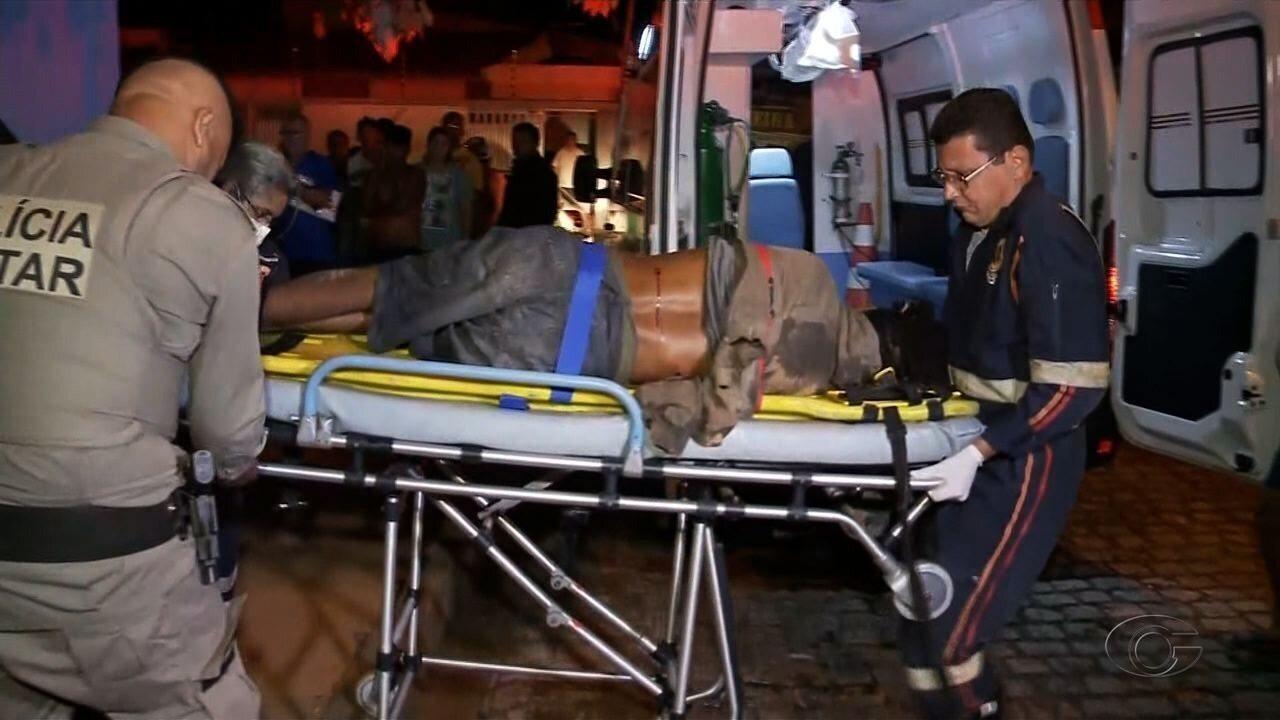 Atentado a bala deixa feridos na Jatiúca, em Maceió