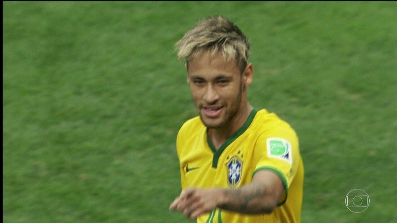Série Copa: veja o perfil do atacante Neymar