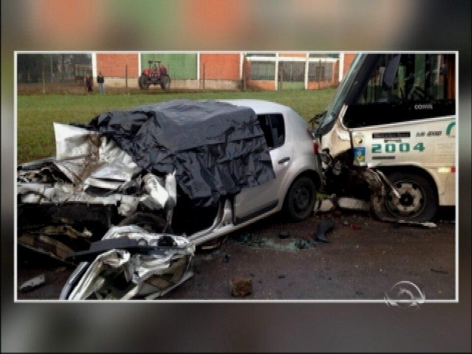 Mulher morre e 20 pessoas ficam feridas em acidente em Soledade