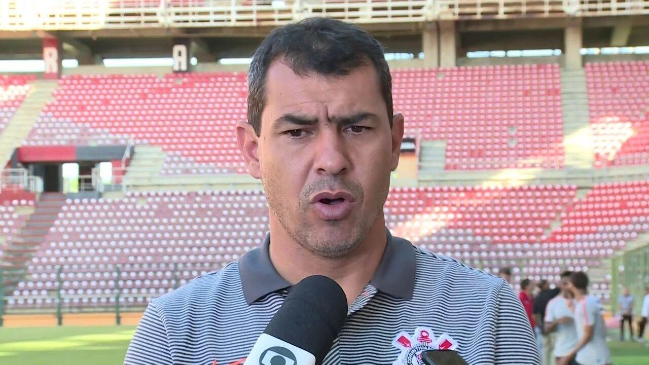 Carille projeta jogo duro na Venezuela, e fala que time não vai sofrer com desgaste físico