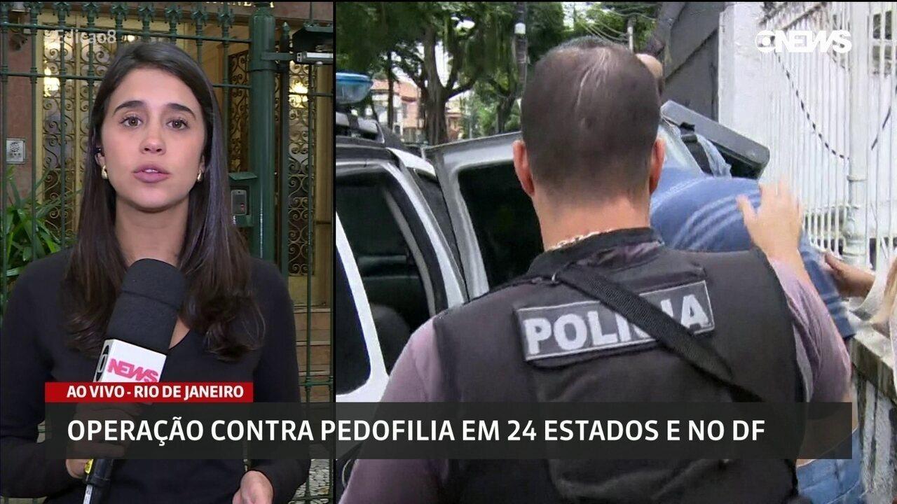 Policiais cumprem mais de 500 mandados em operação contra pedofilia