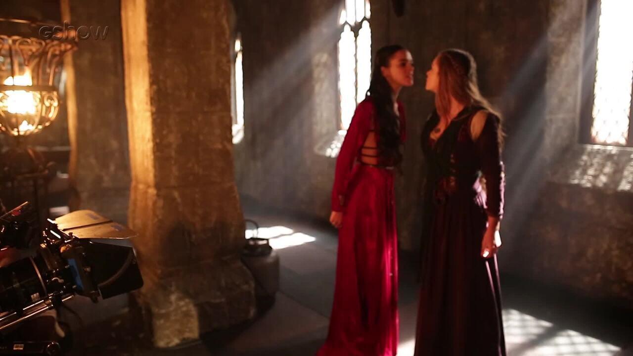 Romulo Estrela fala do embate entre Catarina e Amália