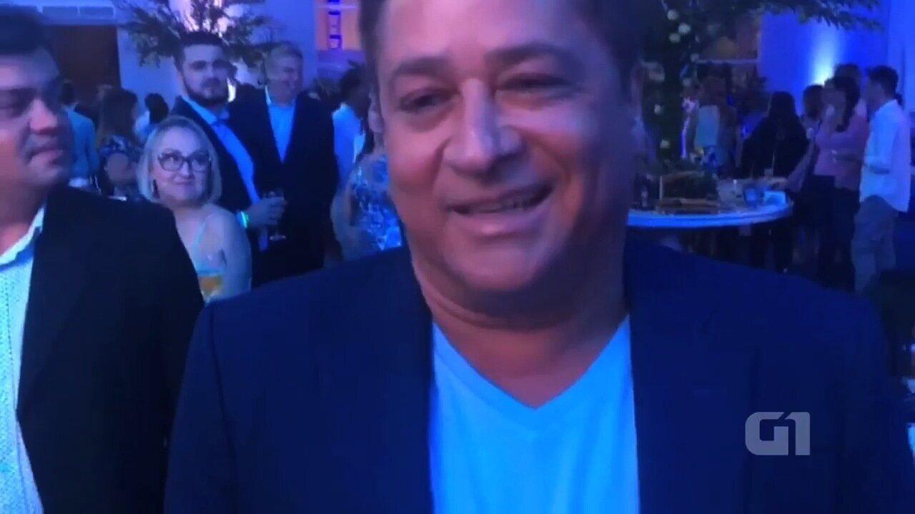 Leonardo participa de evento de lançamento do empreendimento do Roberto Carlos em Goiânia