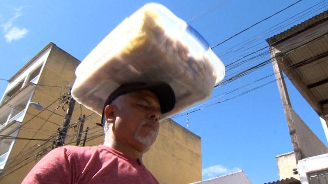 Em Movimento: Vendedores de quebra-queixo inovam pra garantir clientela