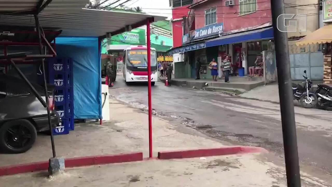 Forças Armadas e polícias do RJ fazem operação em comunidades da Praça Seca