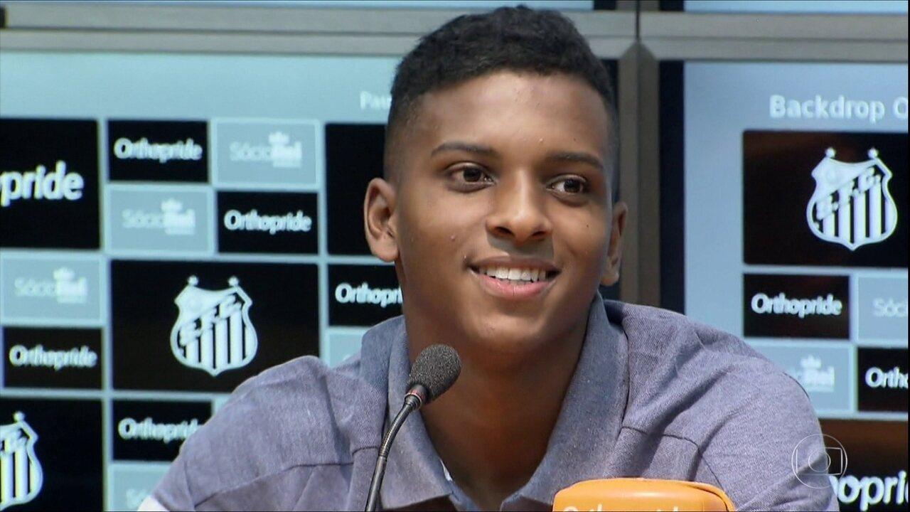 82525b3370 Rodrygo fala de início no futsal do São Paulo e explica mudança para ...