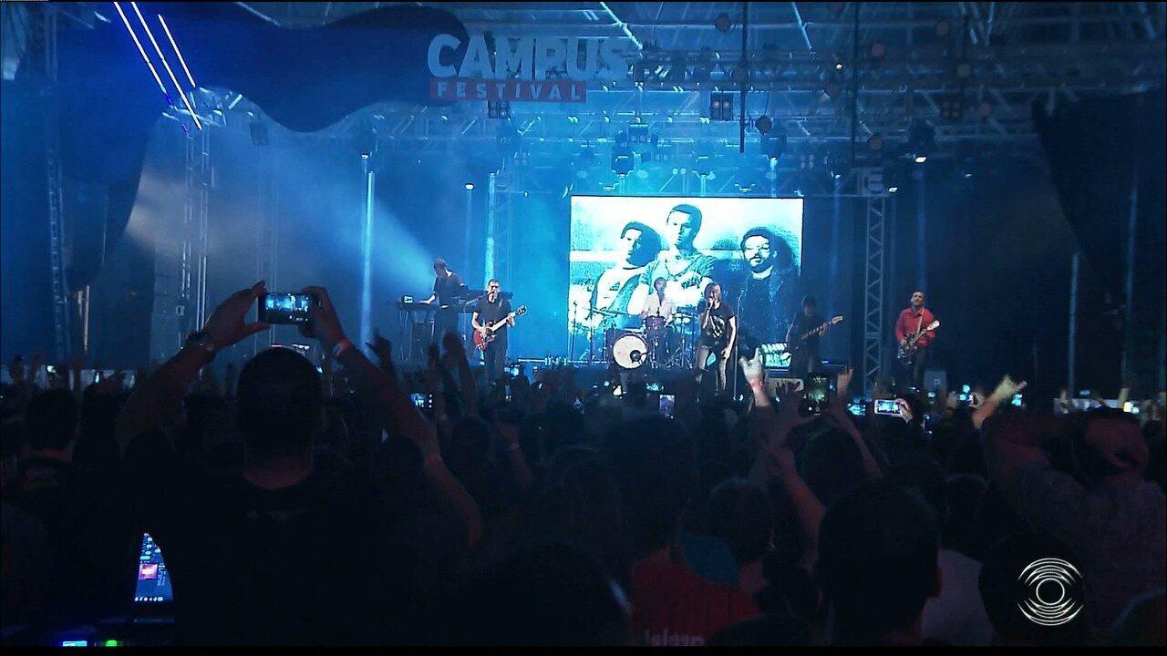 Veja como foram os shows no Campus Festival que aconteceu no Espaço Cultural