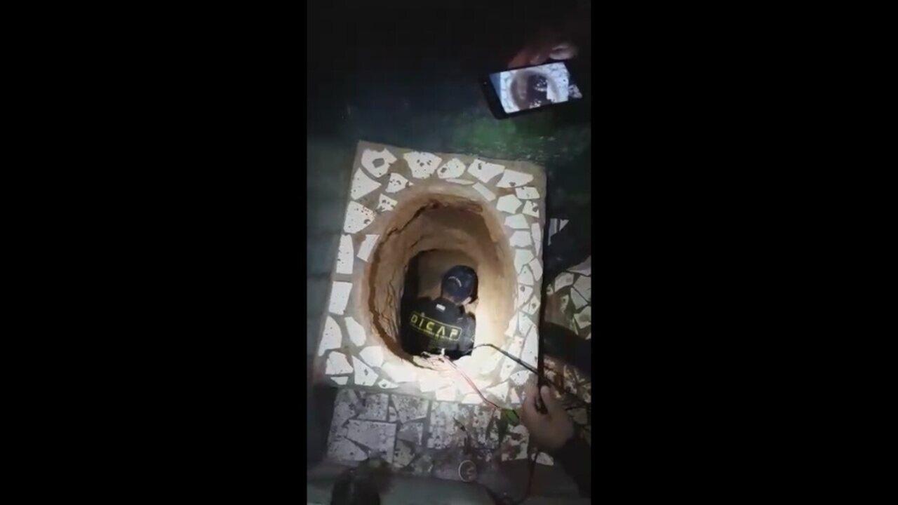 Agentes encontram túnel de 70 metros na Penitenciária Agrícola de Monte Cristo