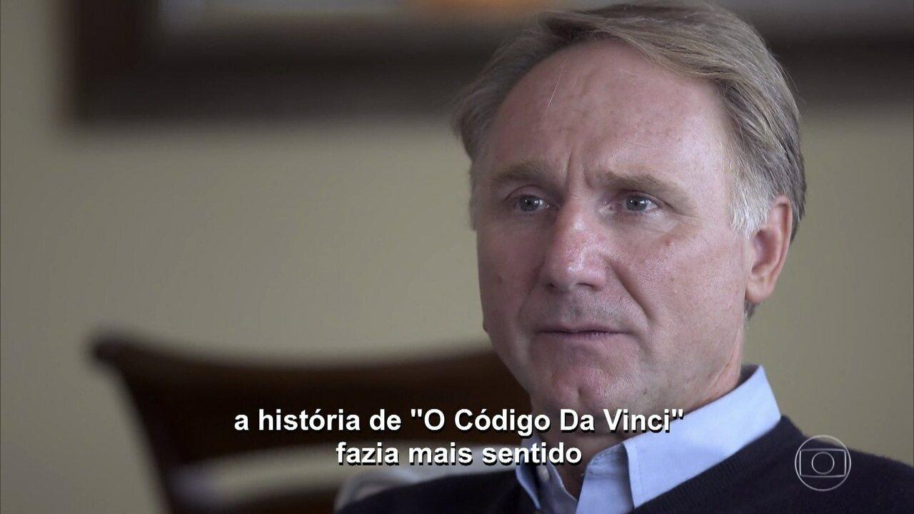 "Dan Brown fala sobre ""O Código Da Vinci"""