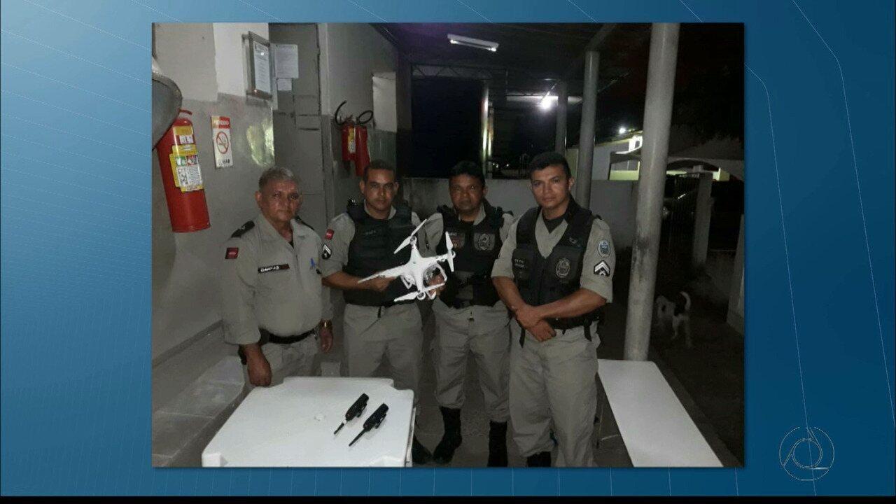 Drone sobrevoa Presídio do Roger, em João Pessoa