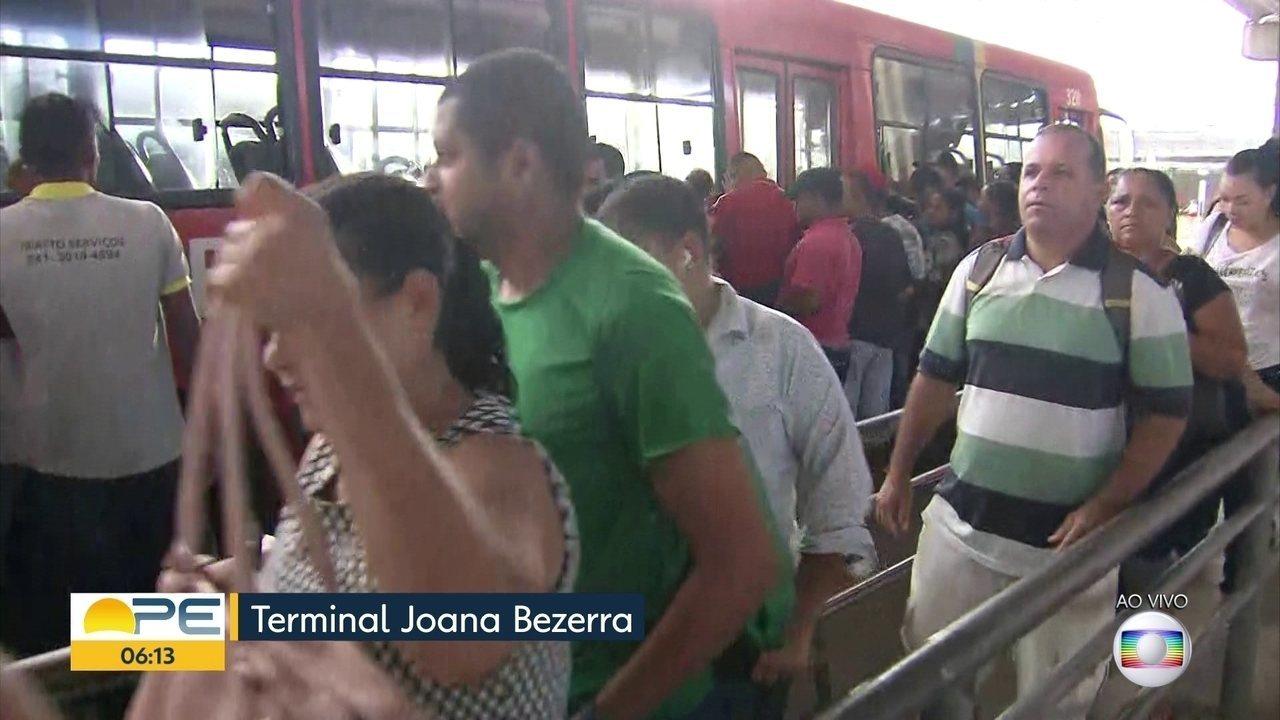 Grande Recife reduz em 8% o número de viagens de ônibus por tempo indeterminado