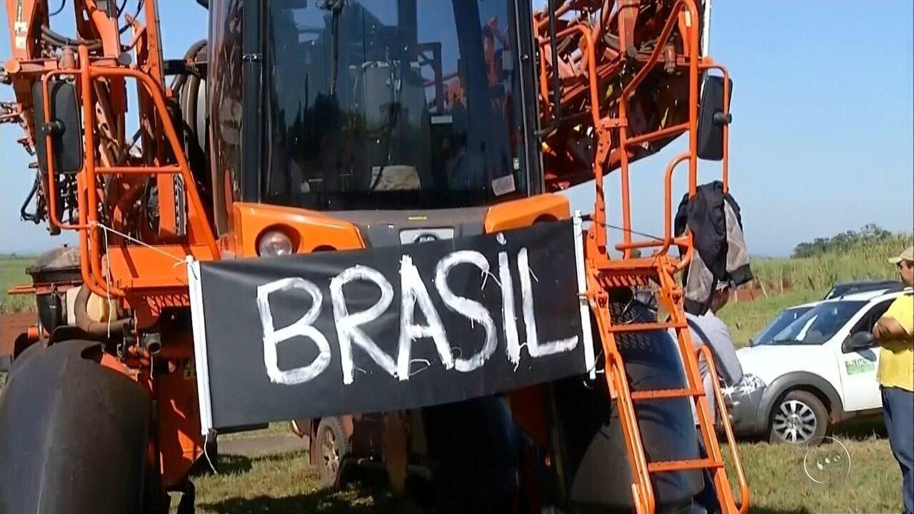 Caminhoneiros voltam a protestar pelo 3º dia no Centro-Oeste Paulista