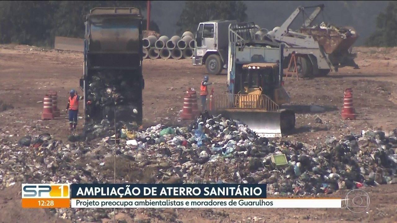 Projeto de ampliação de aterro sanitário preocupa ambientalistas e moradores de Guarulhos