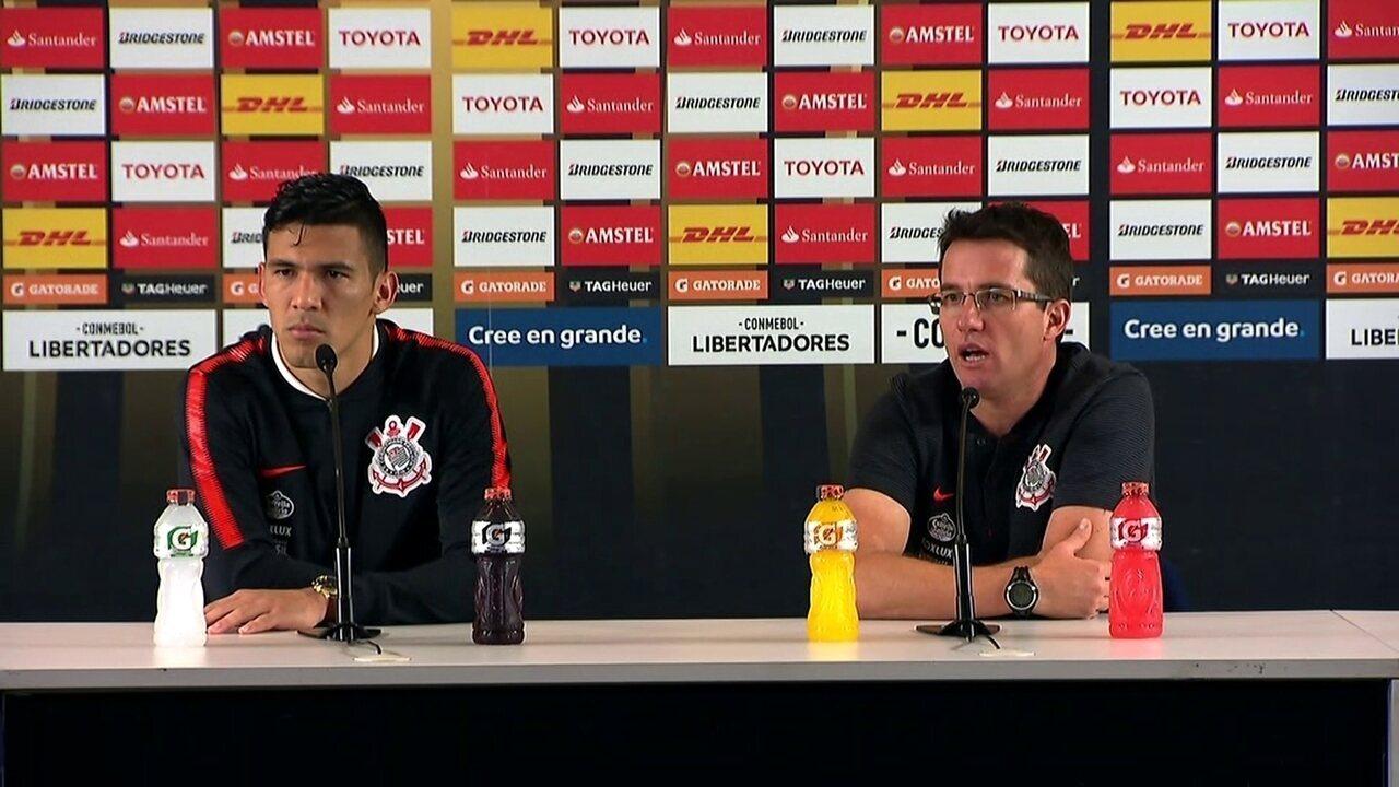 0f9e294de6 Veja a íntegra da coletiva de imprensa de Osmar Loss e Balbuena