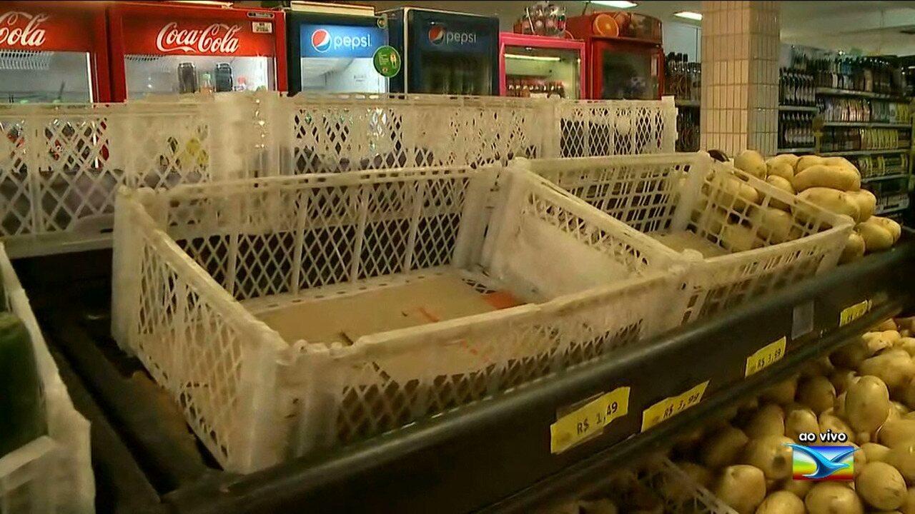 Veja as últimas informações sobre o abastecimento de alimentos em São Luís