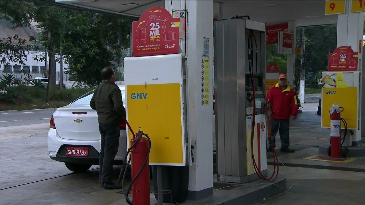 Motoristas só encontram gás nos postos em SP