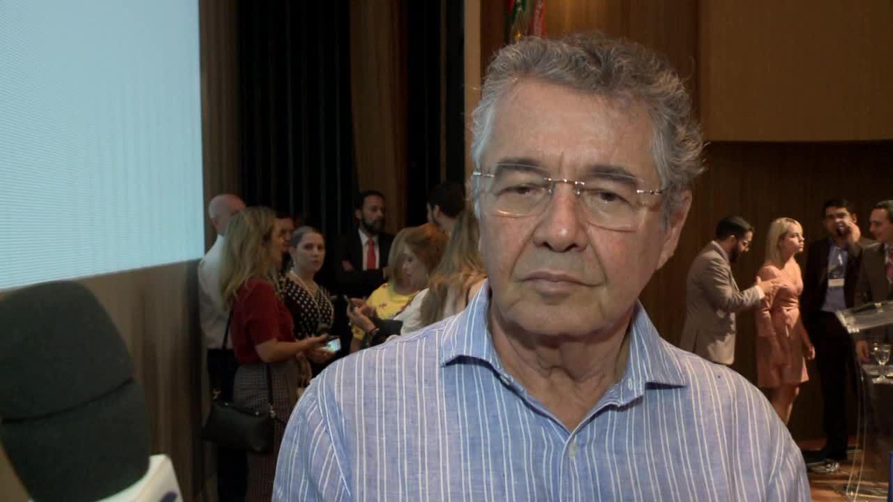 Ministro Marco Aurélio fala sobre greve dos caminhoneiros durante passagem por Maceió