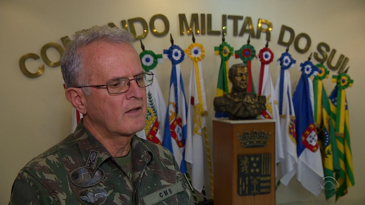 General diz confiar em negociação com caminhoneiros para evitar confrontos