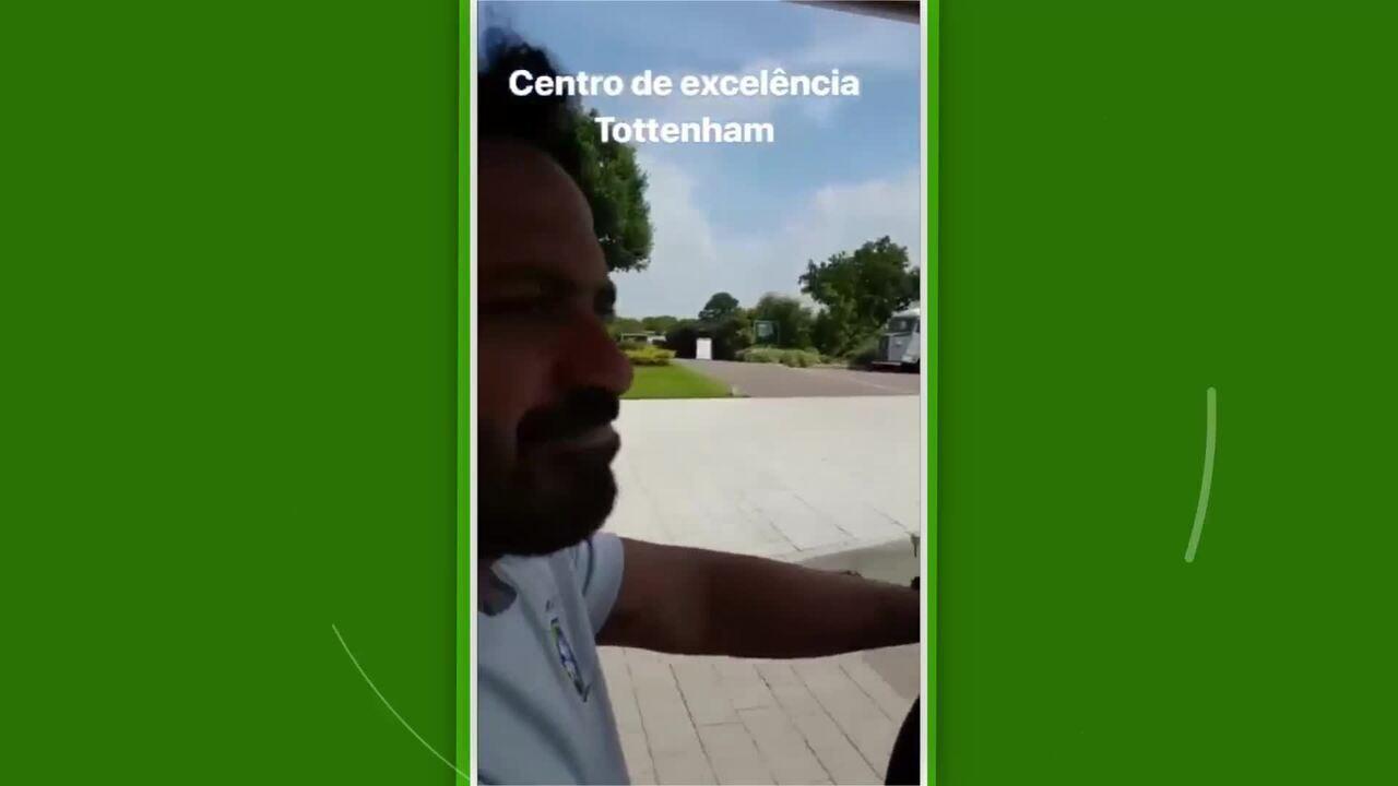 Comissão Técnica do Brasil chega em Londres e mostra CT do Tottenham nas redes sociais