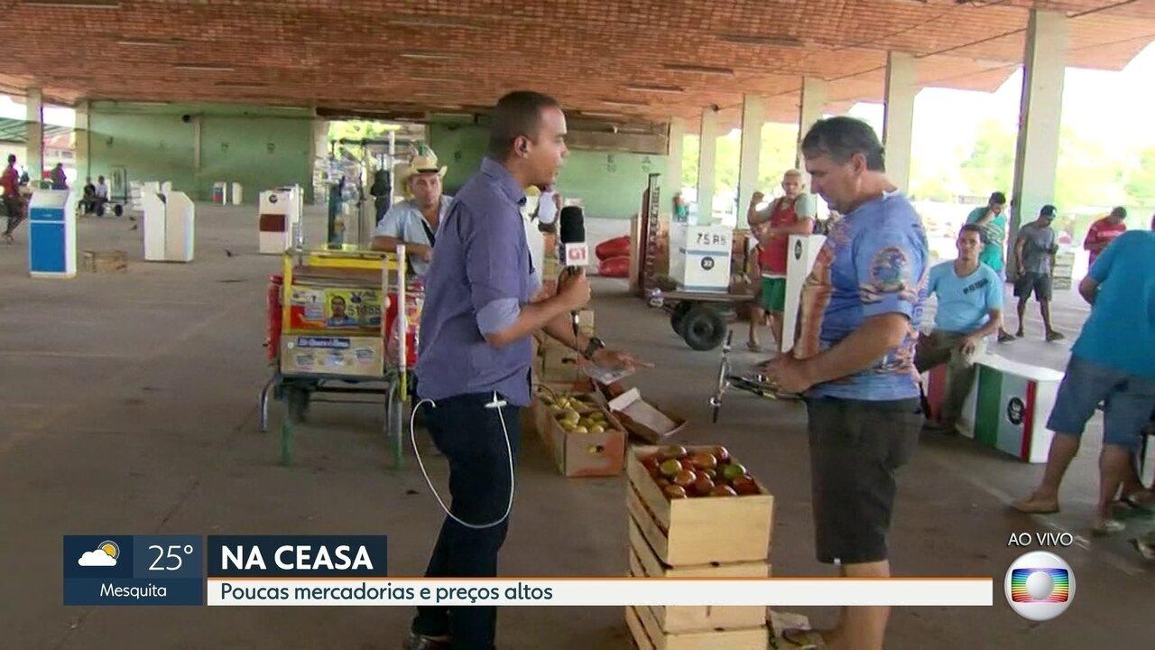 Produtores de Teresópolis e Friburgo vão tentar levar a produção pra Ceasa, amanhã