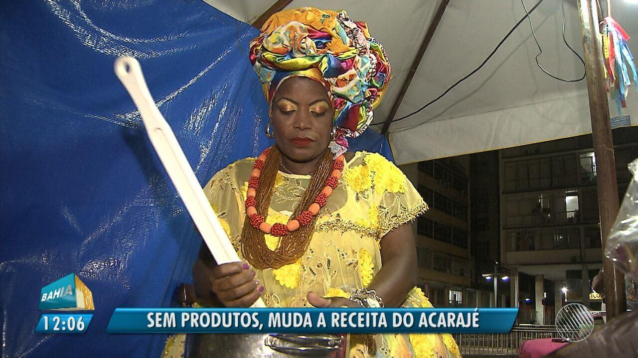 Falta de ingredientes: greve dos caminhoneiros atinge as vendas de acarajé