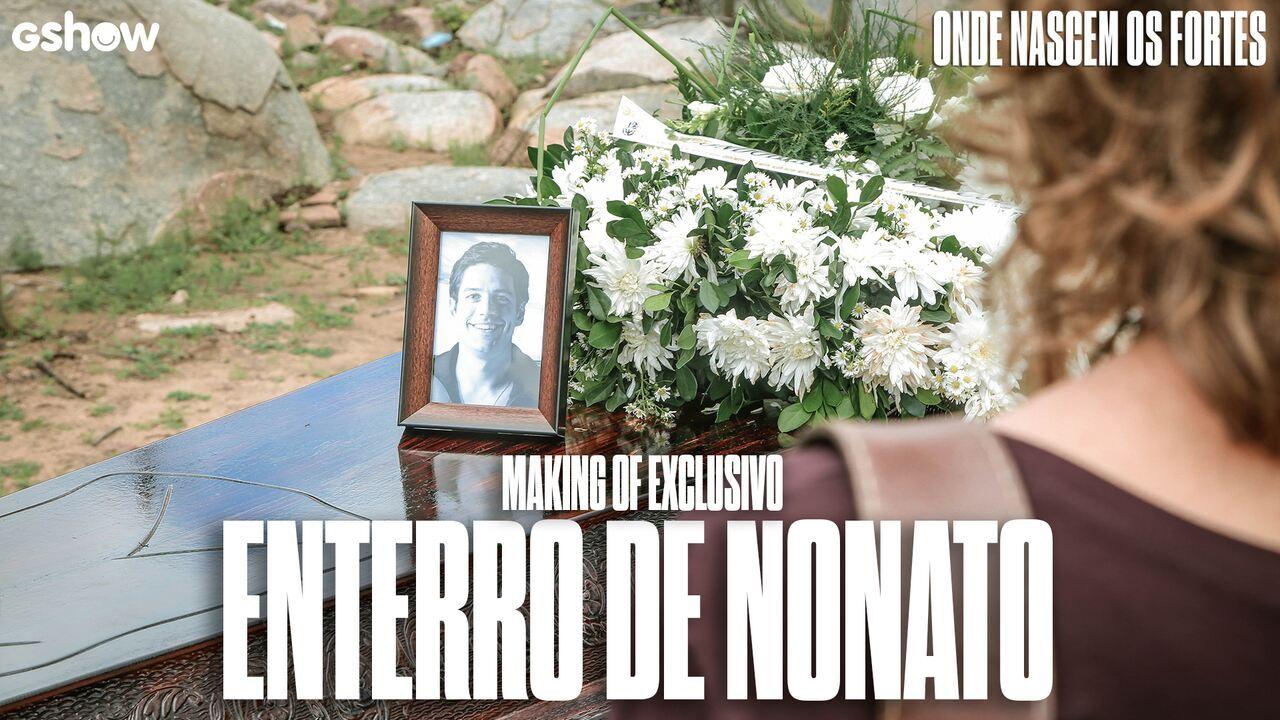 Patricia Pillar fala sobre a dor de Cássia durante cena do enterro de Nonato