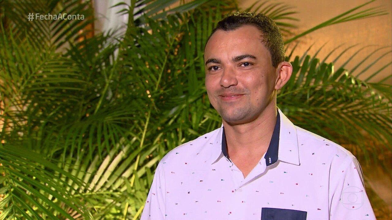 Isamel é de Aracaju, mas trabalha com comida mineira