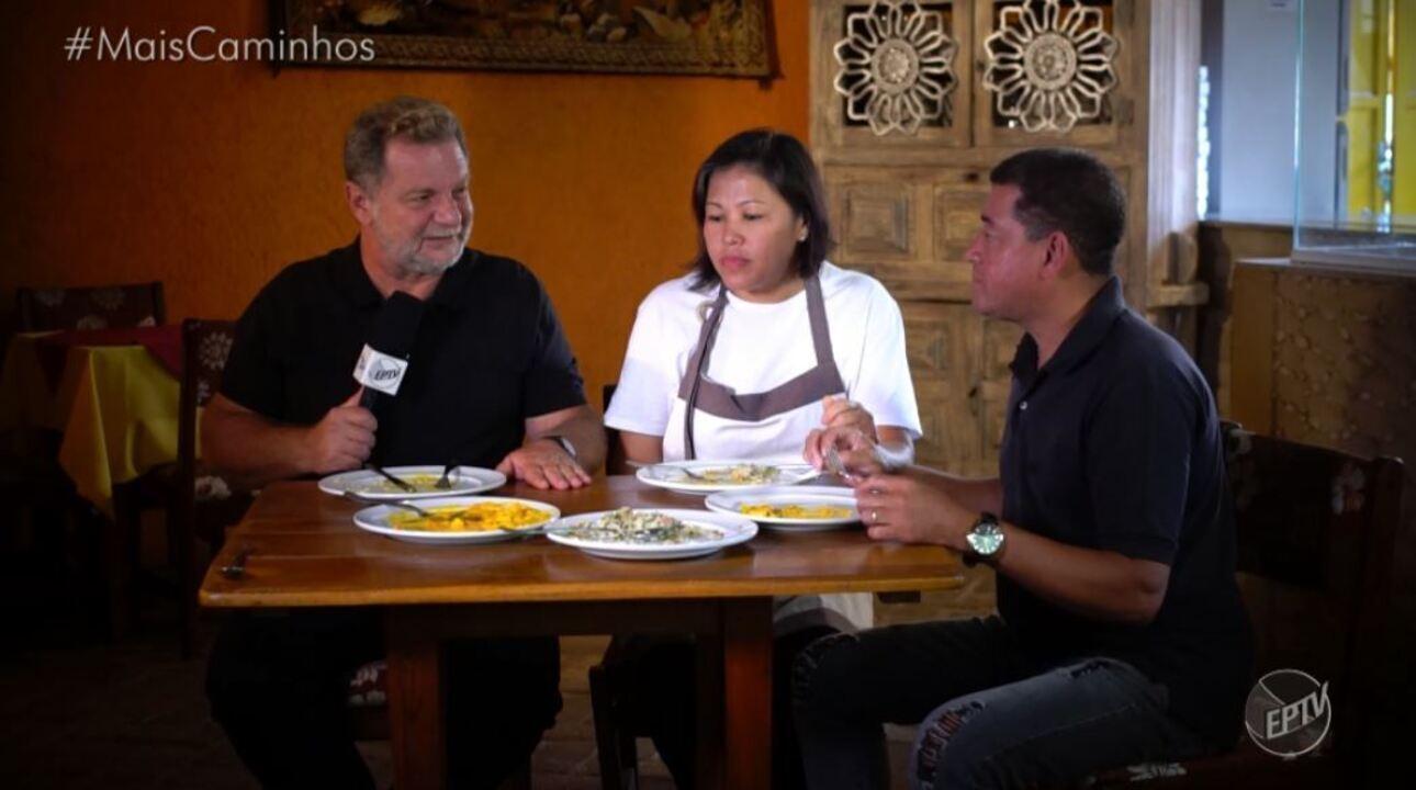 Fernando Kassab apresenta receita de badejo ao molho de camarões.