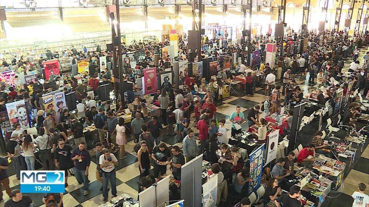 Belo Horizonte sedia Festival Internacional de Quadrinhos neste fim de semana