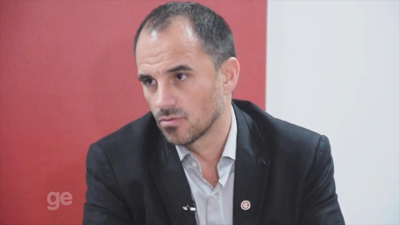 Rodrigo Caetano fala sobre seus planos no Inter