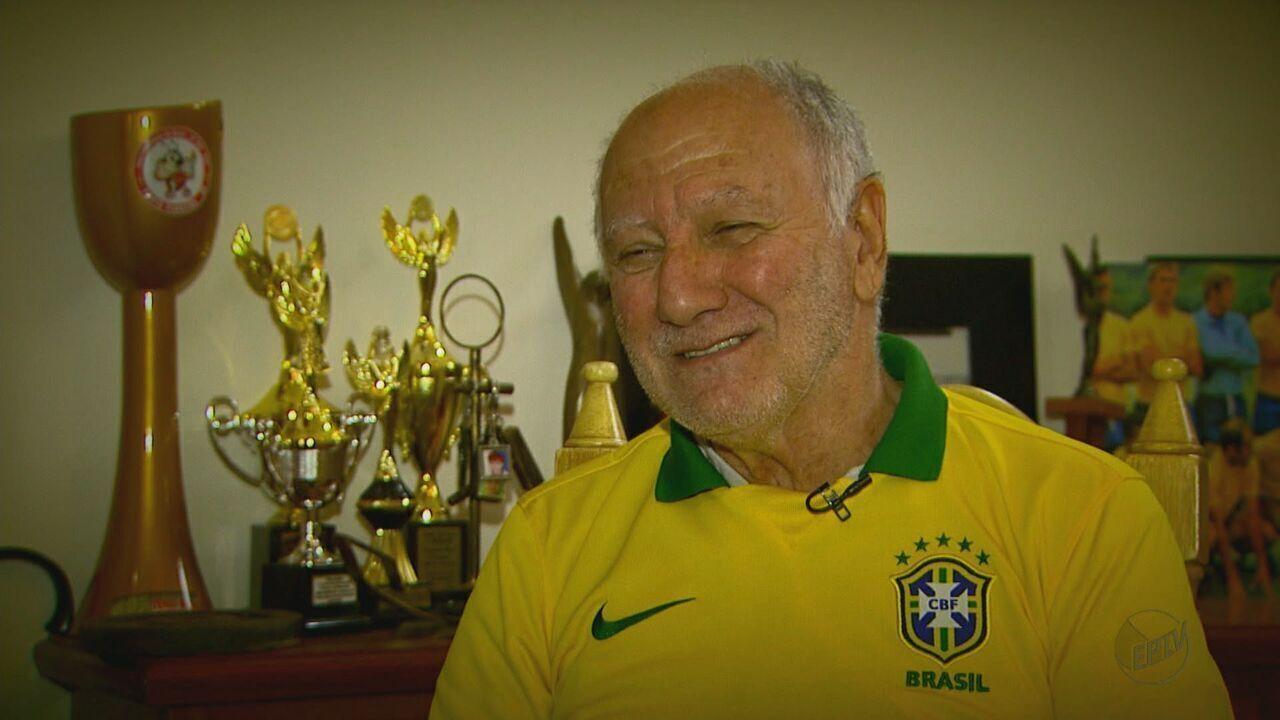 Seleção EPTV: Conheça jogadores da região que participaram de Copas do Mundo