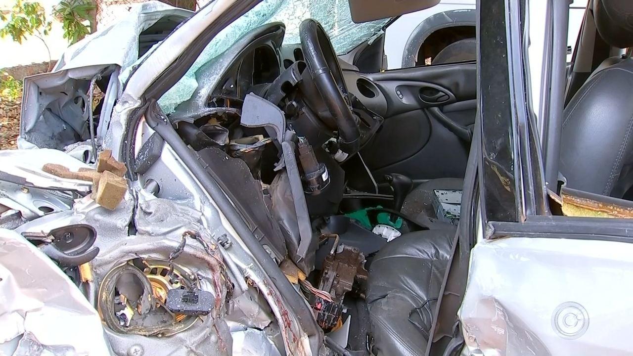 Vítimas de acidente que matou cinco pessoas são enterradas no interior de SP