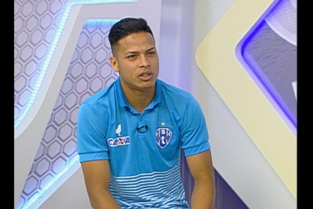 Veja a entrevista completa de Matheus Silva ao GE na Rede desta segunda-feira, dia 4