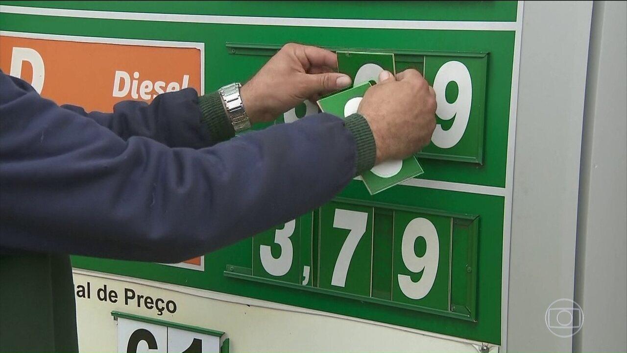 Distribuidoras e donos de postos de combustíveis pedem redução do ICMS para o diesel