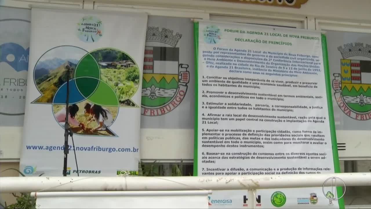 Mudas são distribuídas em Nova Friburgo,RJ, em comemoração ao Dia Mundial do Meio Ambiente