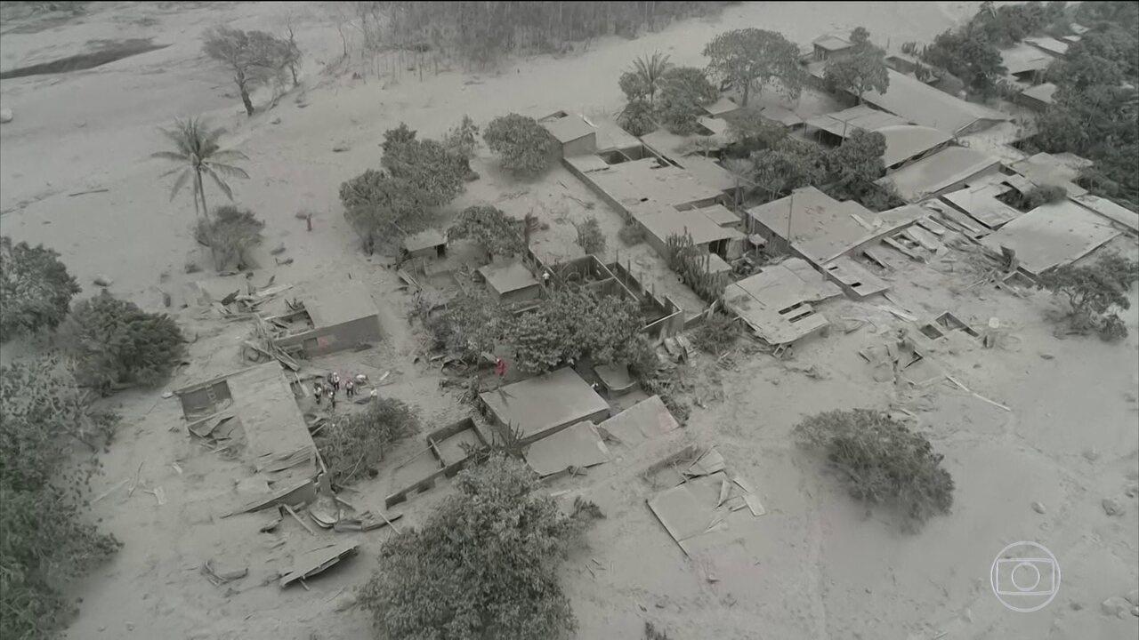 Quase duzentas pessoas ainda estão desaparecidas, depois da erupção do vulcão de Fogo