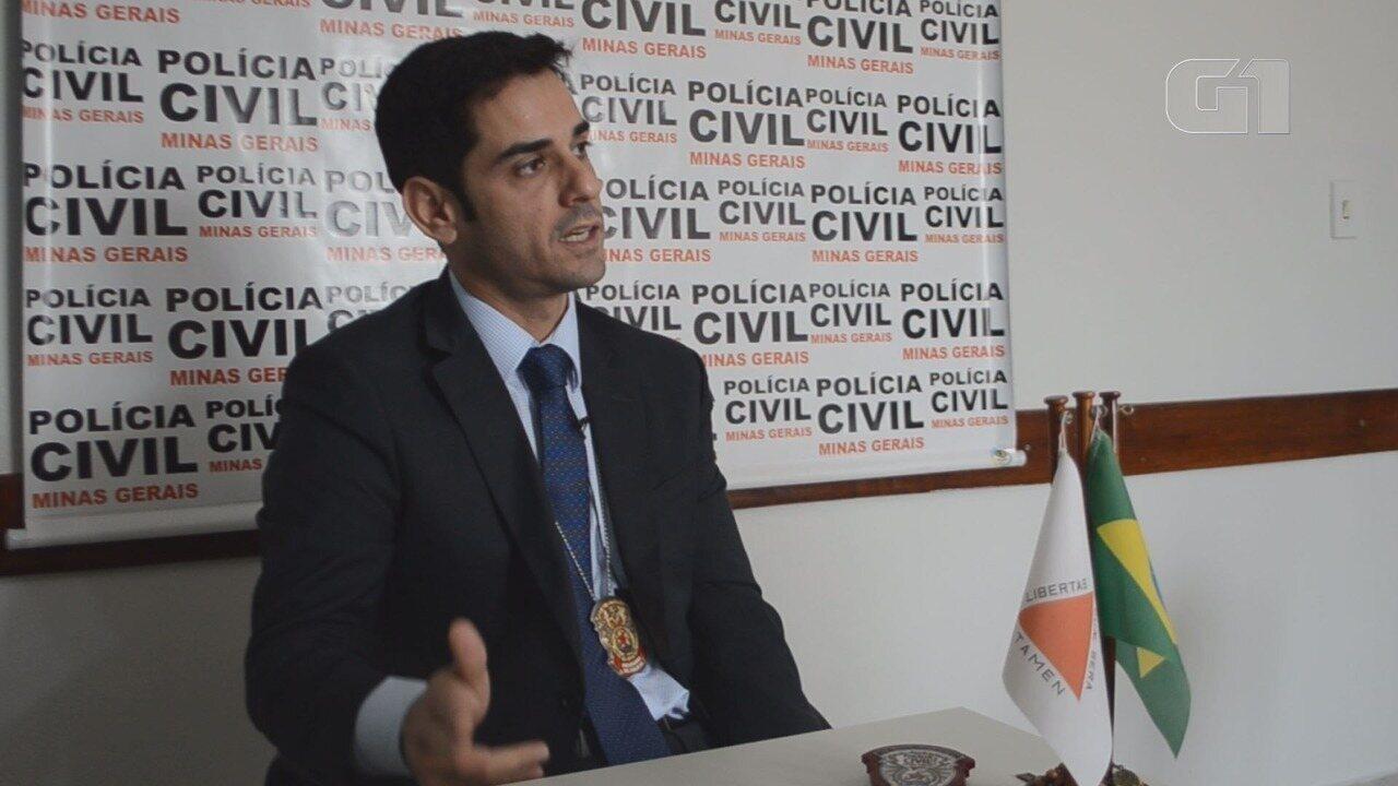 Delegado regional Marcos Pimenta fala sobre a ação dos criminosos nas pequenas cidades
