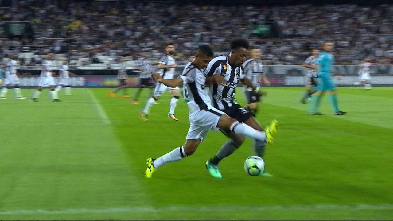 Melhores momentos de Botafogo 0 x 0 Ceará pela 10ª rodada do Brasileirão  2018 5be7e49f36565