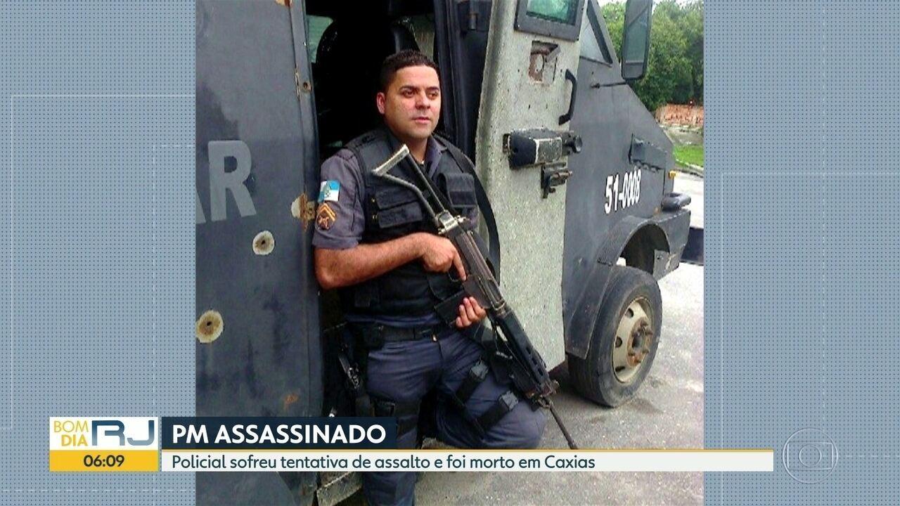 Policial militar A� assassinado em Caxias