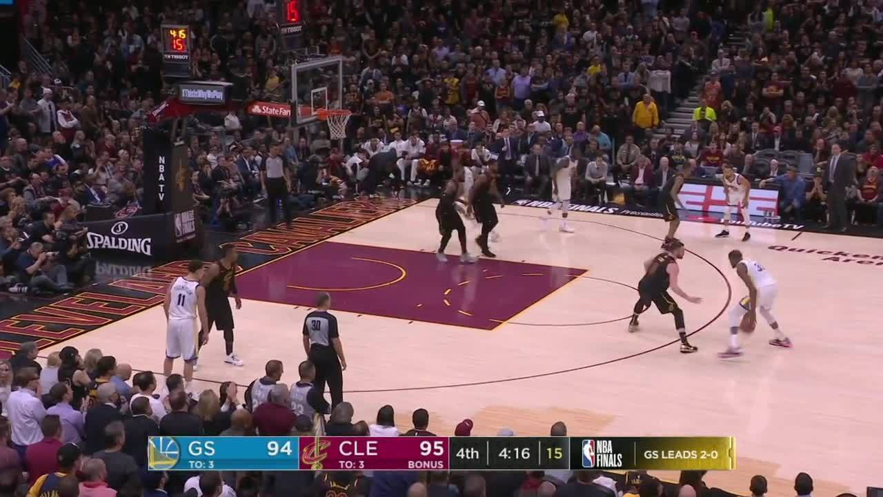 Melhores momentos: Golden State Warriors 110 x 102 Cleveland Cavaliers pela NBA