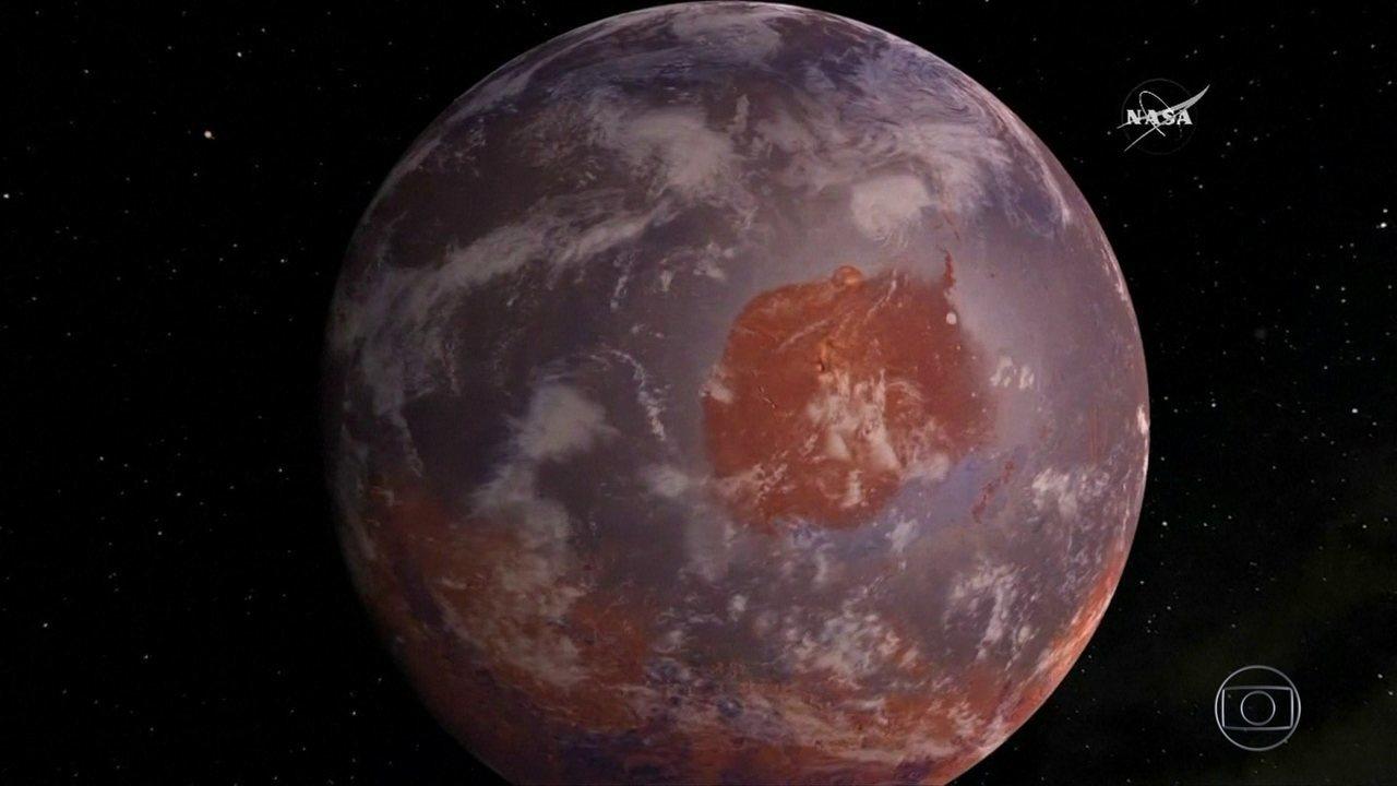 Nasa comprova existência de moléculas orgânicas em Marte