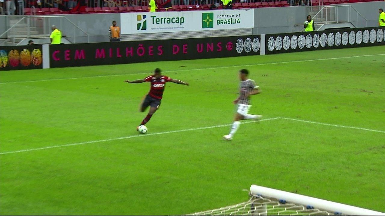 Melhores momentos de Fluminense 0 x 2 Flamengo pela 10ª rodada do Brasileirão 2018